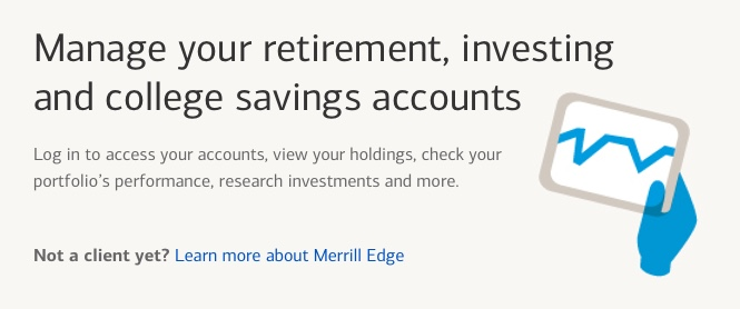 Manage your retirement, investing and college savings accounts