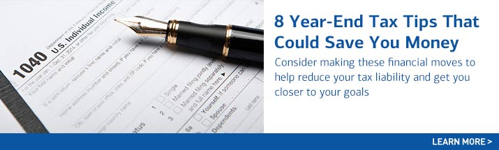 8 Year End Tax Tips That Could Save You Money